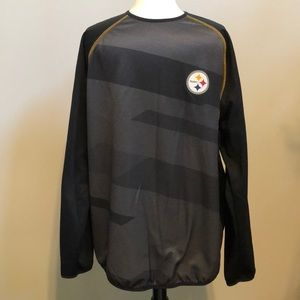 Pittsburgh Steelers long sleeve pull over size XL